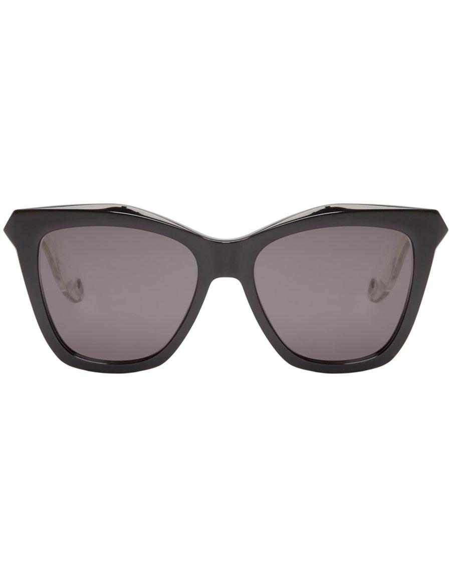 GIVENCHY Black Cat Eye Sunglasses