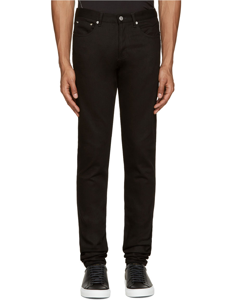GIVENCHY Black Rico Jeans
