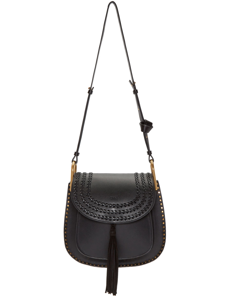CHLOÉ Black Medium Hudson Bag