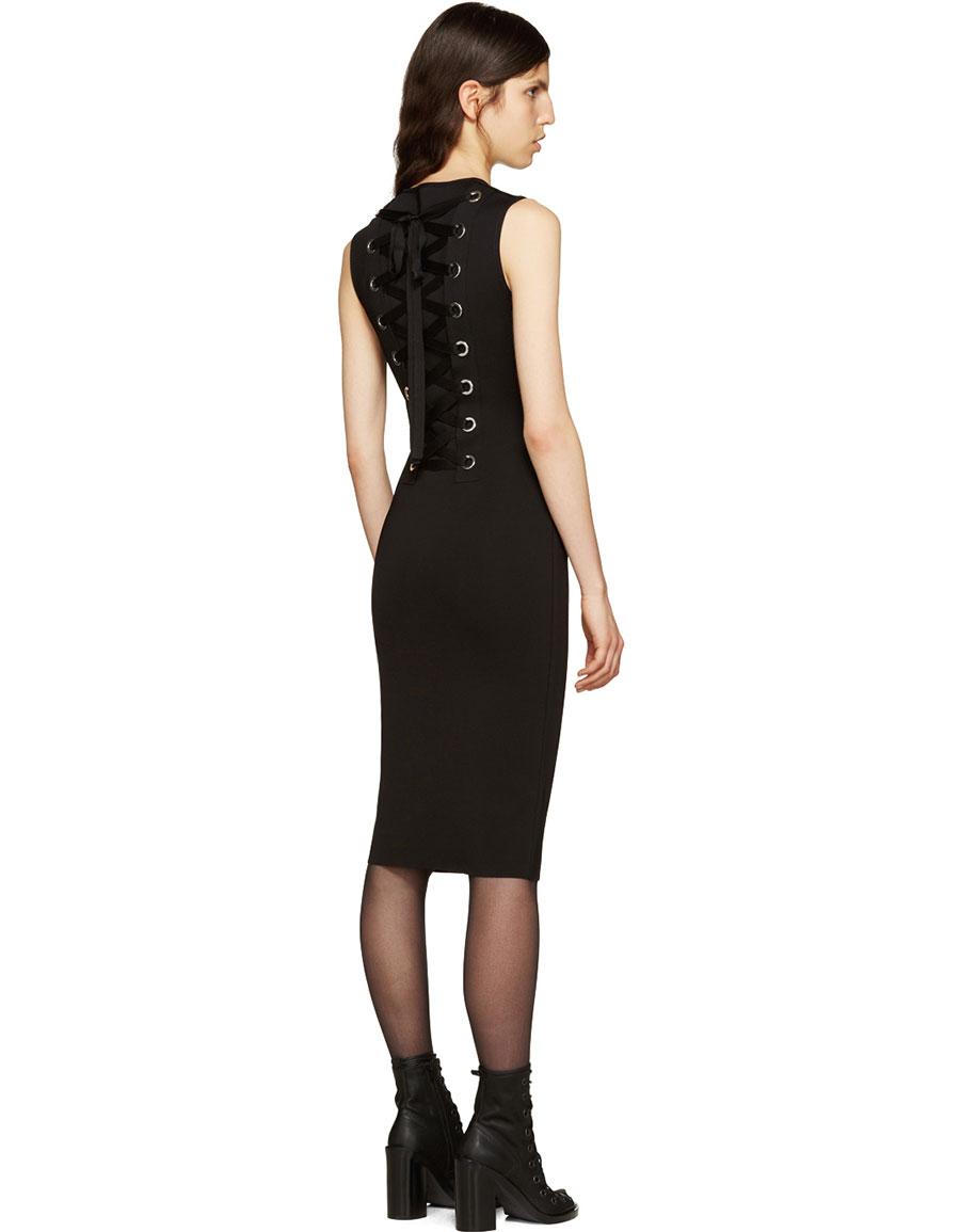 GIVENCHY Black Punto Milano Dress