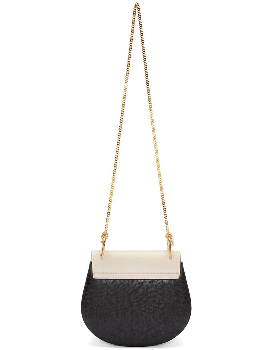 CHLOÉ Black Small Drew Saddle Bag