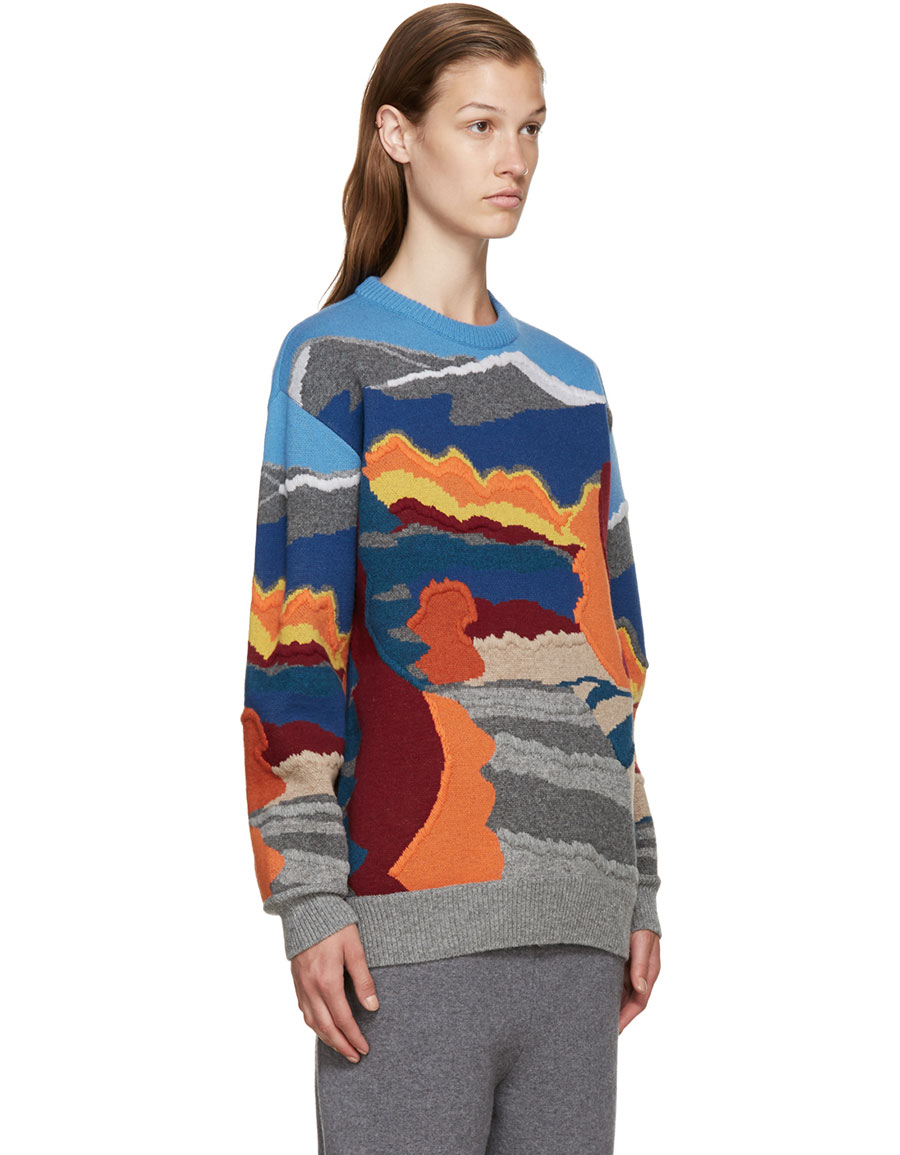 STELLA MCCARTNEY Multicolor Patterned Sweater