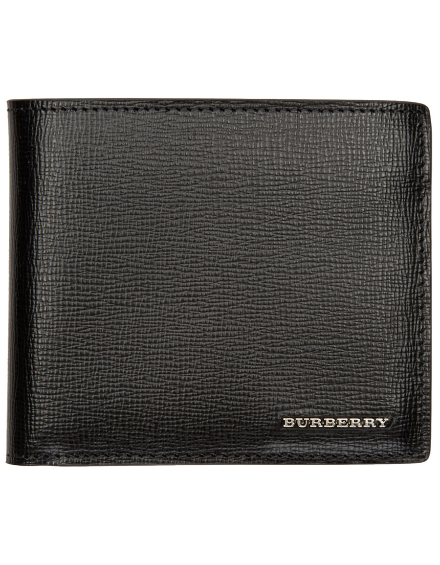 BURBERRY Black Logo Wallet