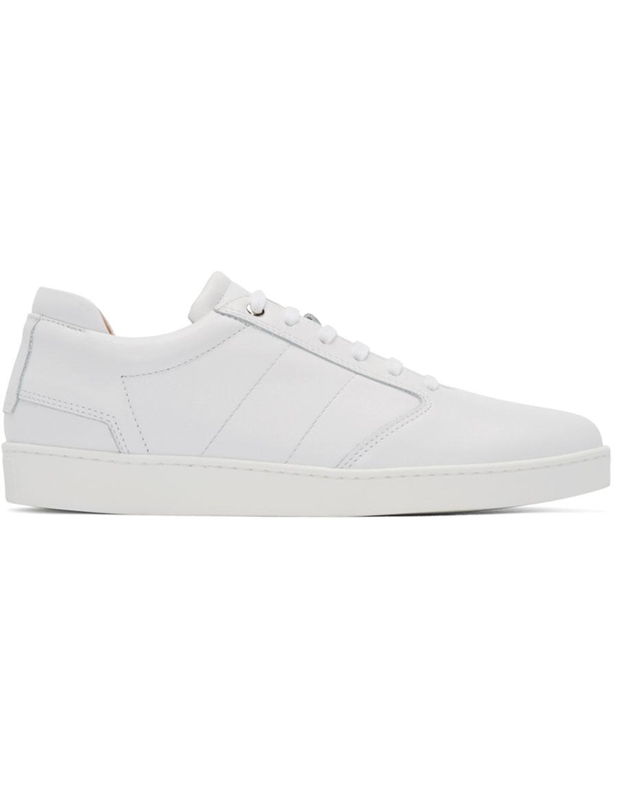 WANT LES ESSENTIELS White Lennon Low Top Sneakers