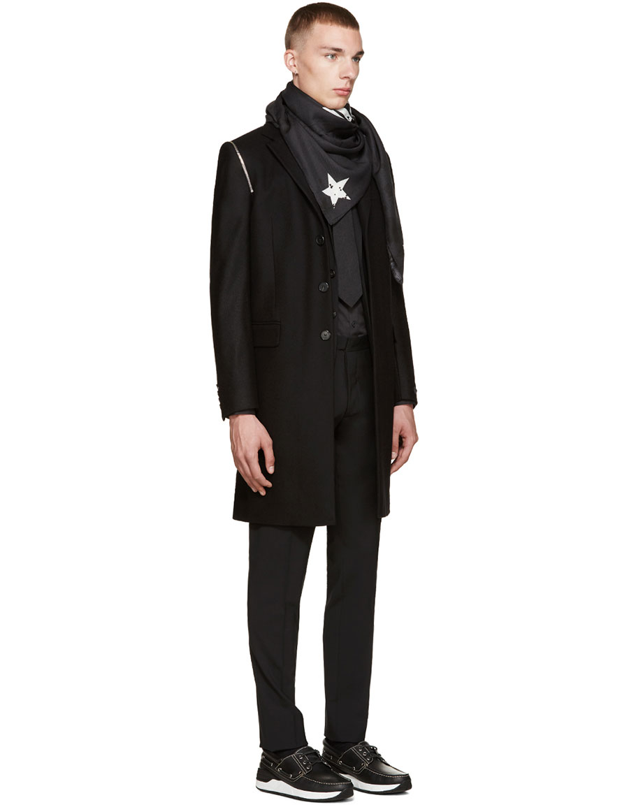 GIVENCHY Black Star Tie