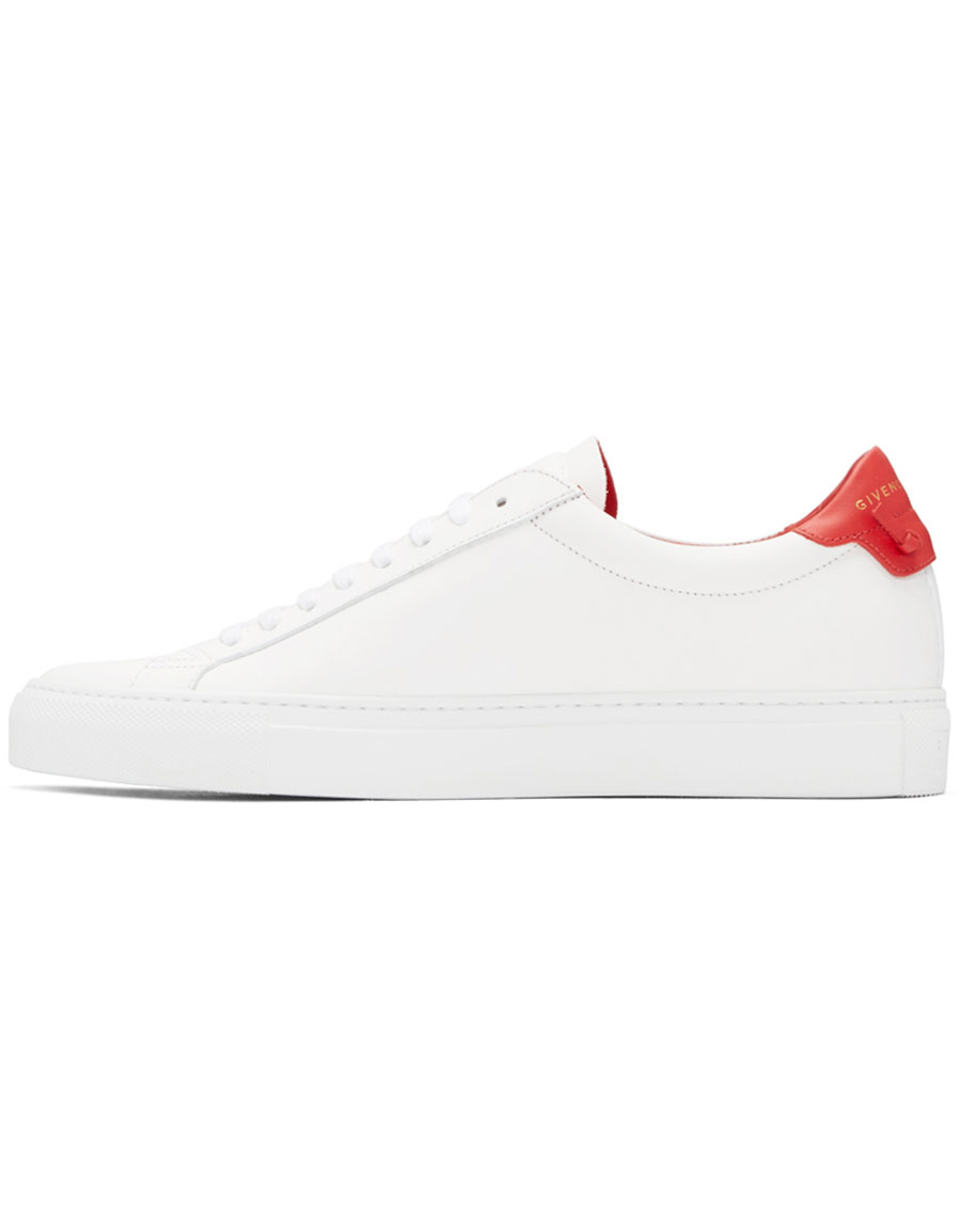 GIVENCHY White Urban Knots Sneakers