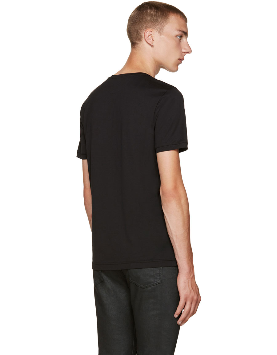FENDI Black Karlito T Shirt