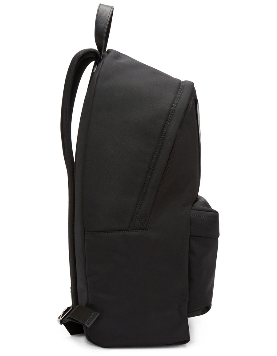 GIVENCHY Black Patchwork Iconic Backpack