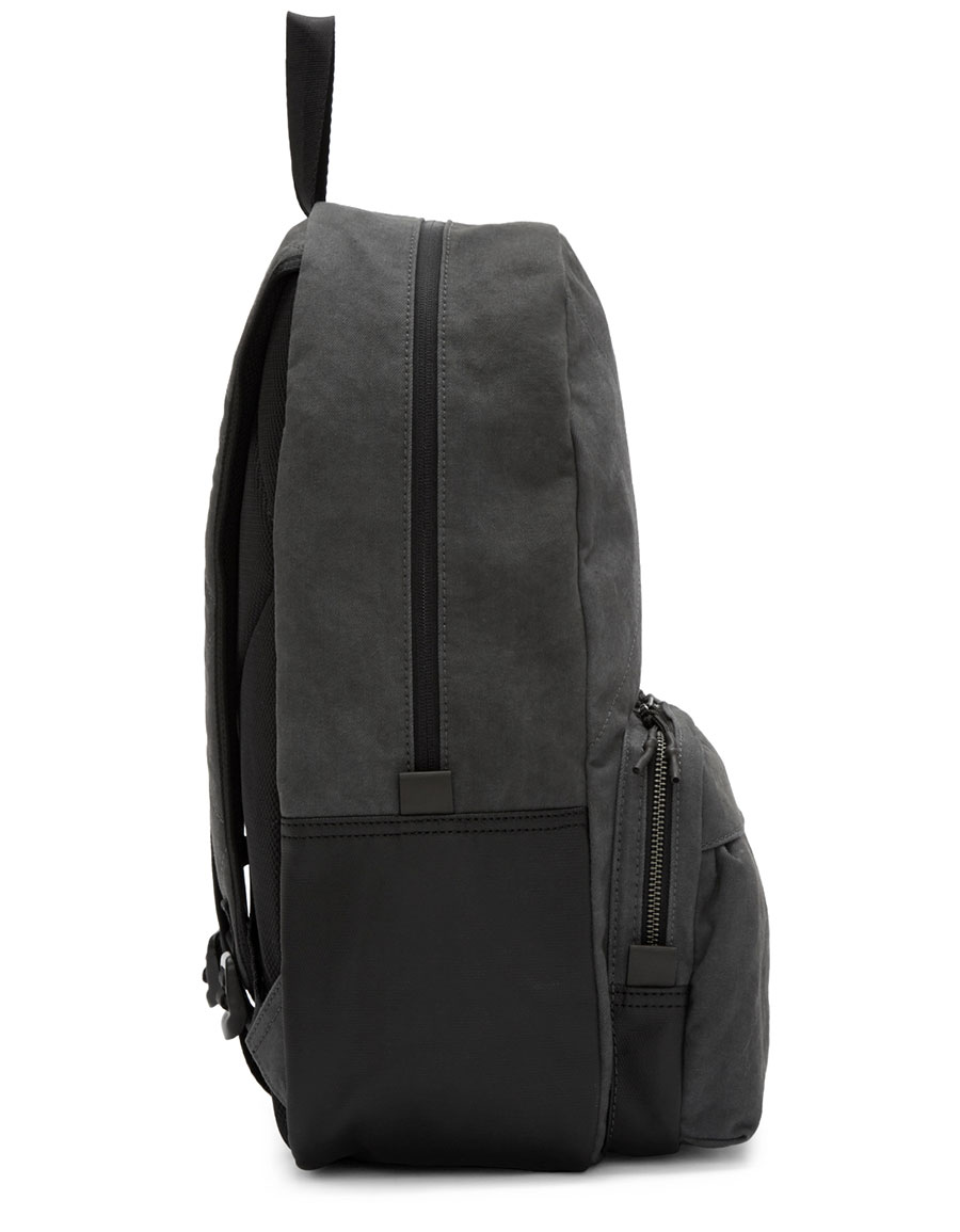 DIESEL Grey Denim D Keep Backpack