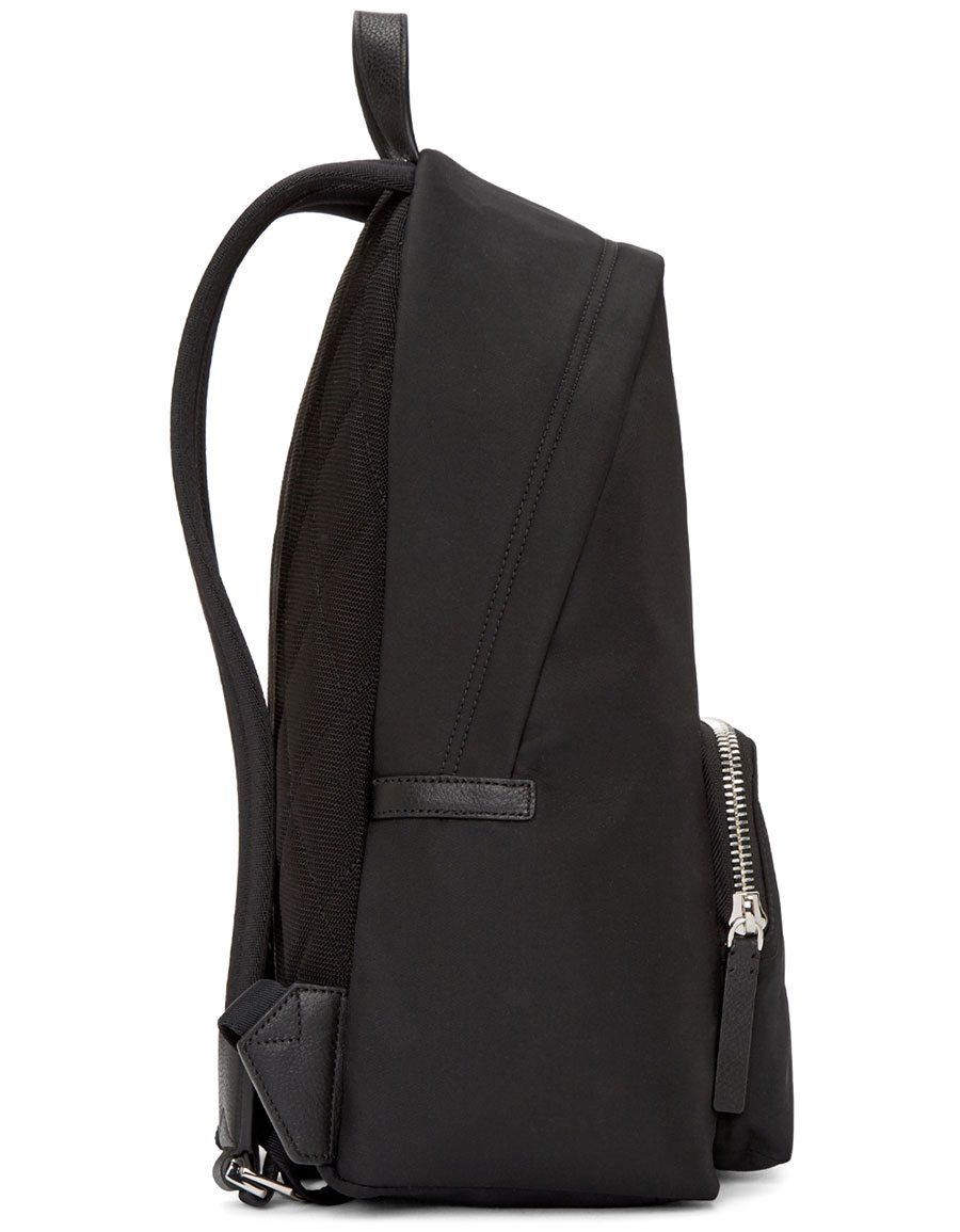 BURBERRY Black Nylon Abbeydale Backpack