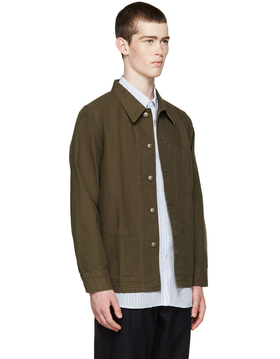 VISVIM Green Military Jacket