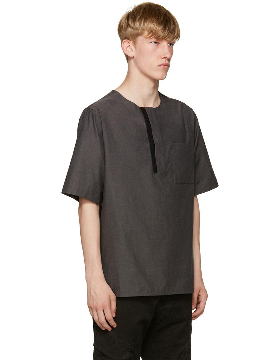 PUBLIC SCHOOL Grey Mer T Shirt