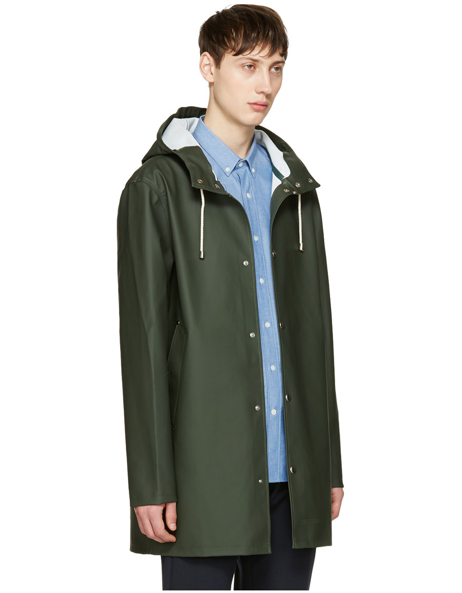 STUTTERHEIM Green Stockholm Raincoat