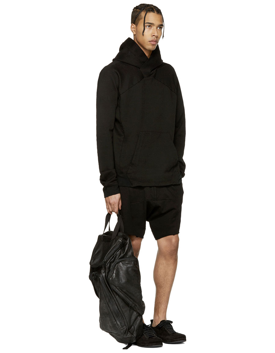 JULIUS Black 'Dust' Shorts