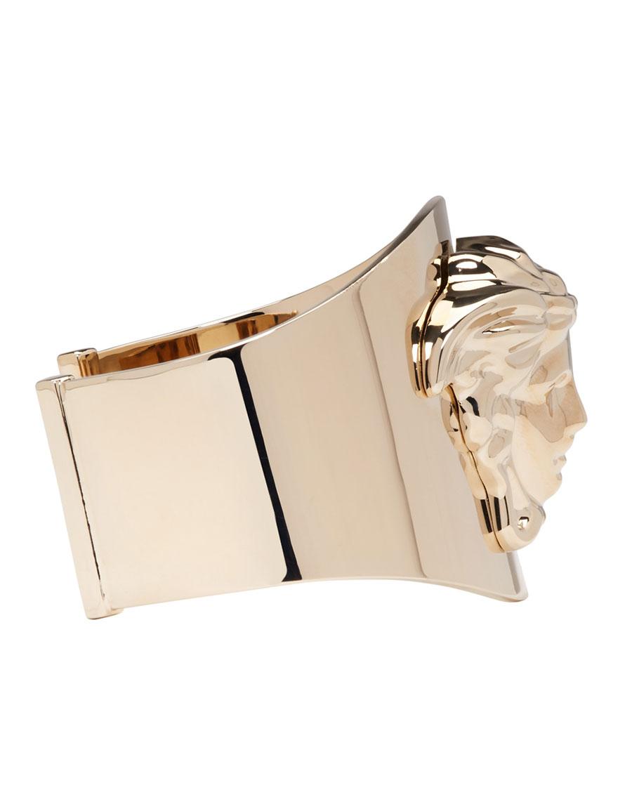 VERSACE Gold Medusa Cuff Bracelet