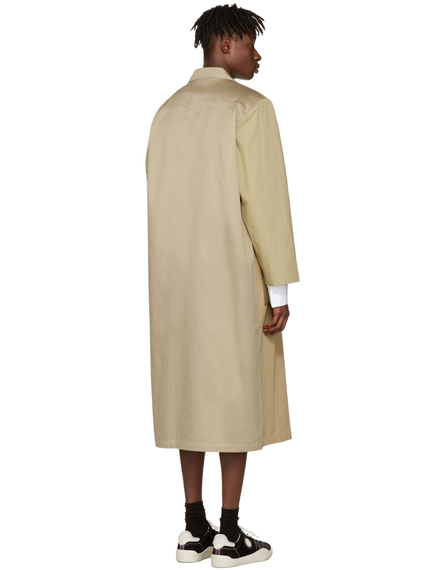 BLESS Beige Mix Work Coat
