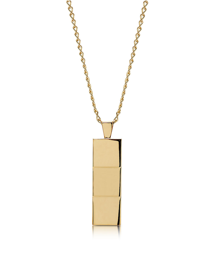 NORTHSKULL Layers Gold tone Necklace