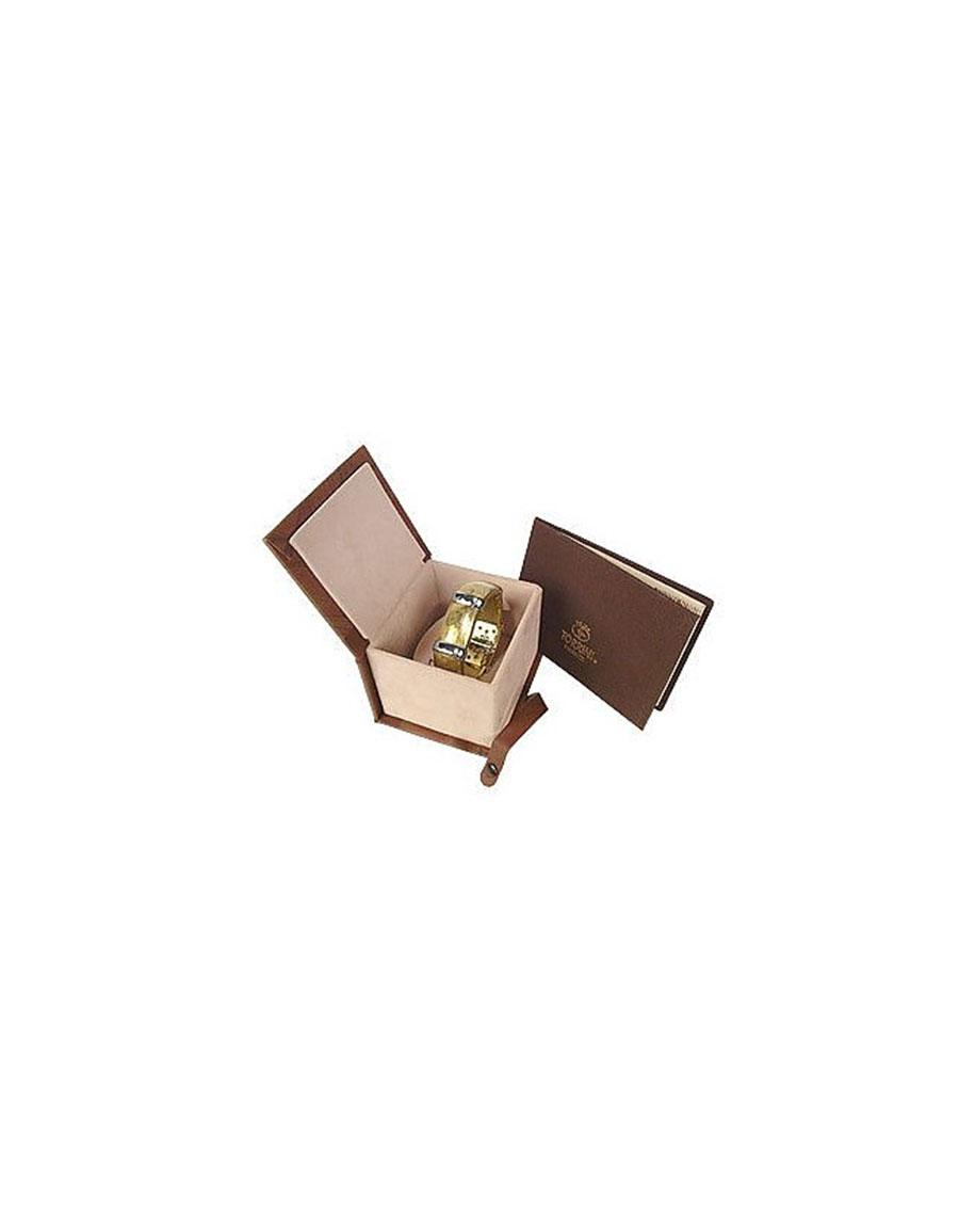 TORRINI Morphos 18K Yellow and White Gold Cuff Bracelet
