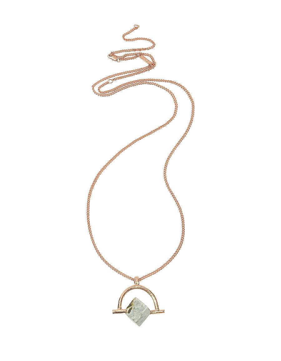 BJORG Wonder Wander Agate Stone Women's Necklace