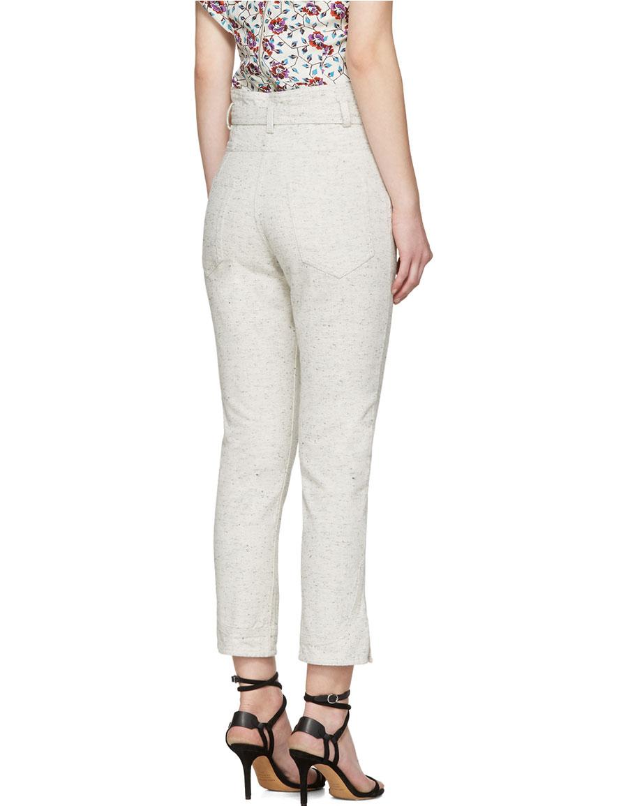 ISABEL MARANT Off White Evera Jeans