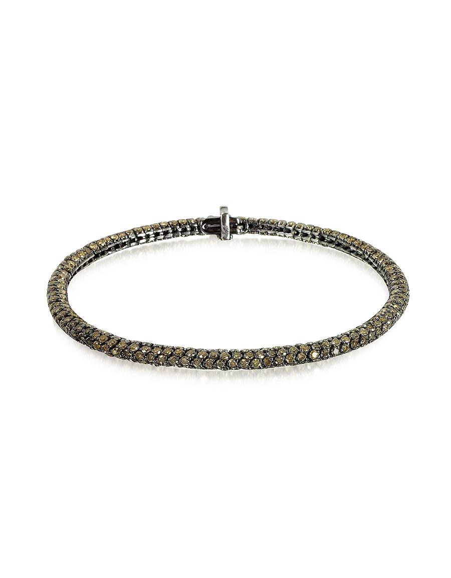 CHRISTIAN KOBAN Clou Brown Diamond Bracelet