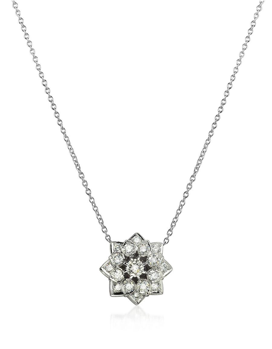 INCANTO ROYALE 1.35 ctw Diamond 18K Gold Necklace