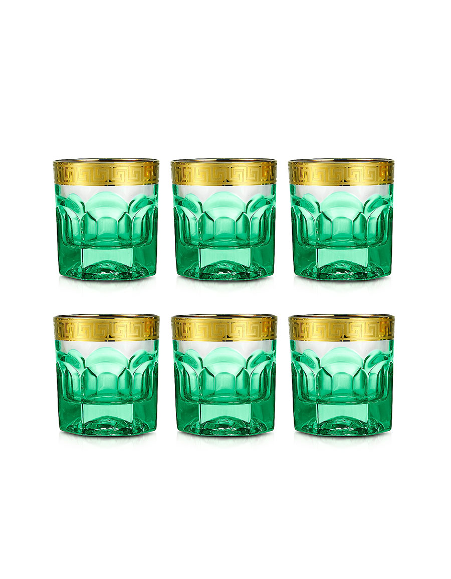 FORZIERI Zecchin Set of 6 Tumbler Glasses