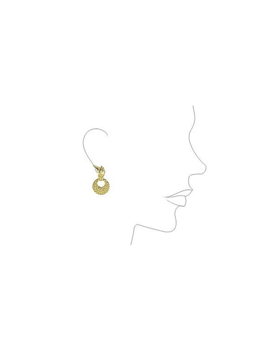 TORRINI Victoria 18K Yellow Gold Chiselled Earrings