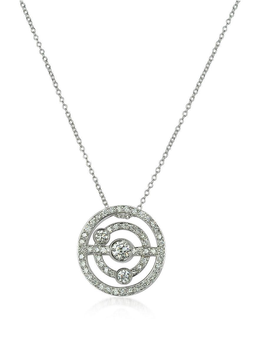 INCANTO ROYALE 0.42 ctw Diamond 18K Gold Charm Necklace