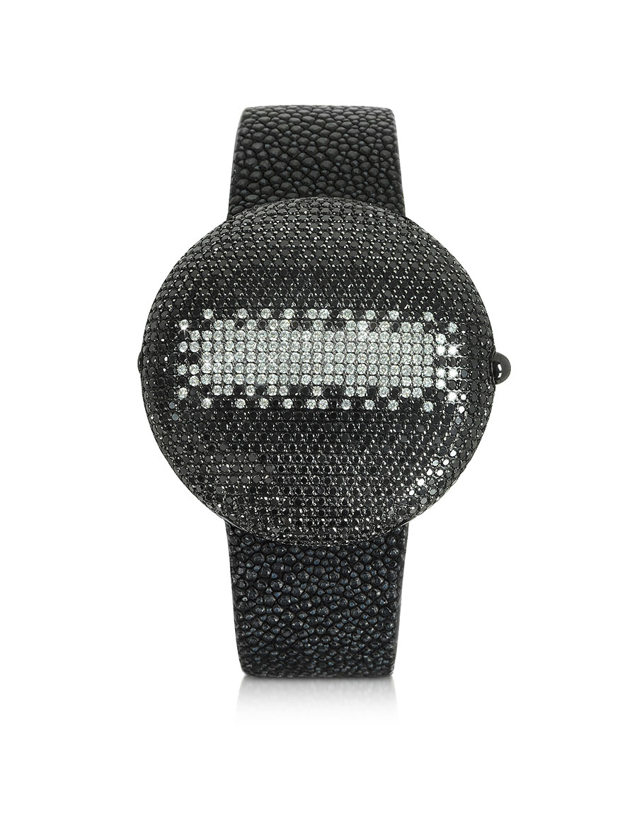 CHRISTIAN KOBAN Clou Black Diamond Dinner Watch