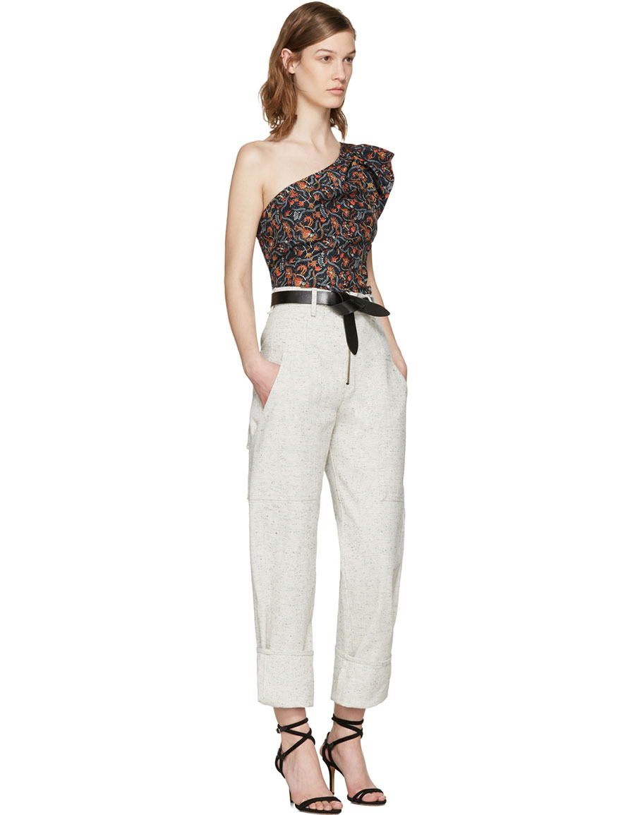 ISABEL MARANT Off White Eugenie Jeans