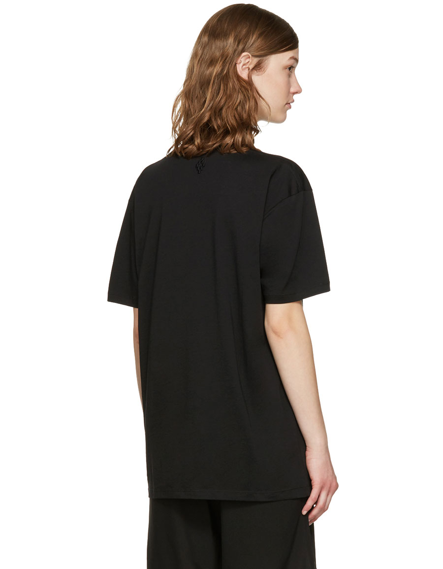 MARCELO BURLON Black Sabina T Shirt