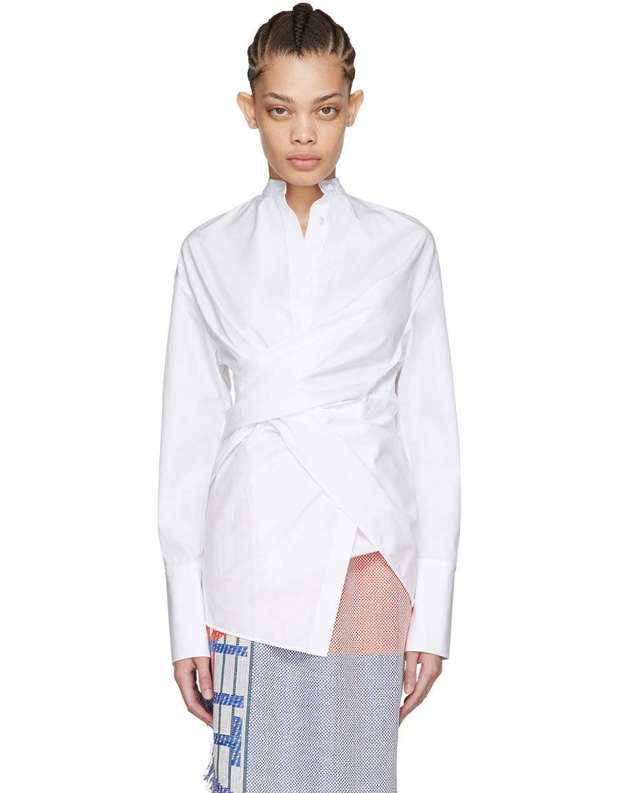 PORTS 1961 White Three Way Shirt