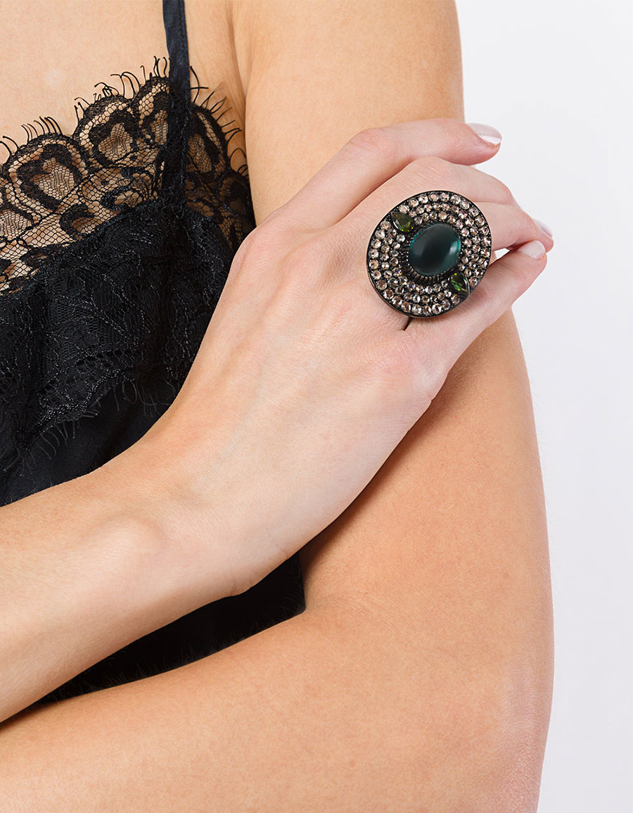 MONAN Stone diamond ring