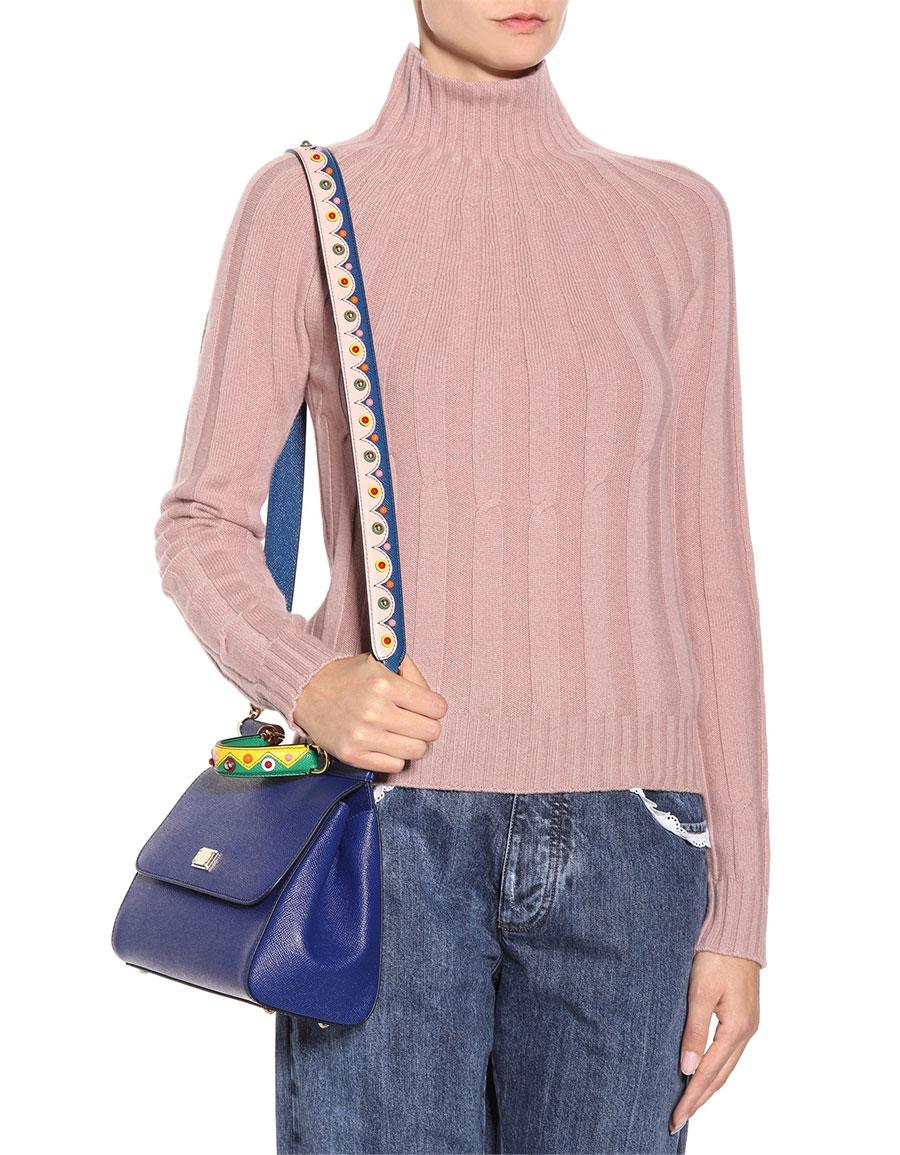 DOLCE & GABBANA Leather shoulder strap