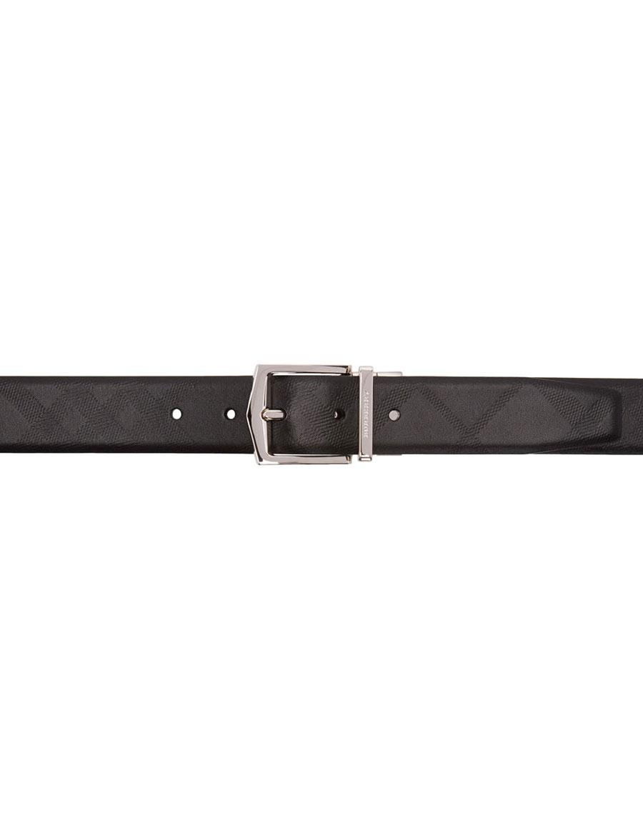 BURBERRY Black James Belt