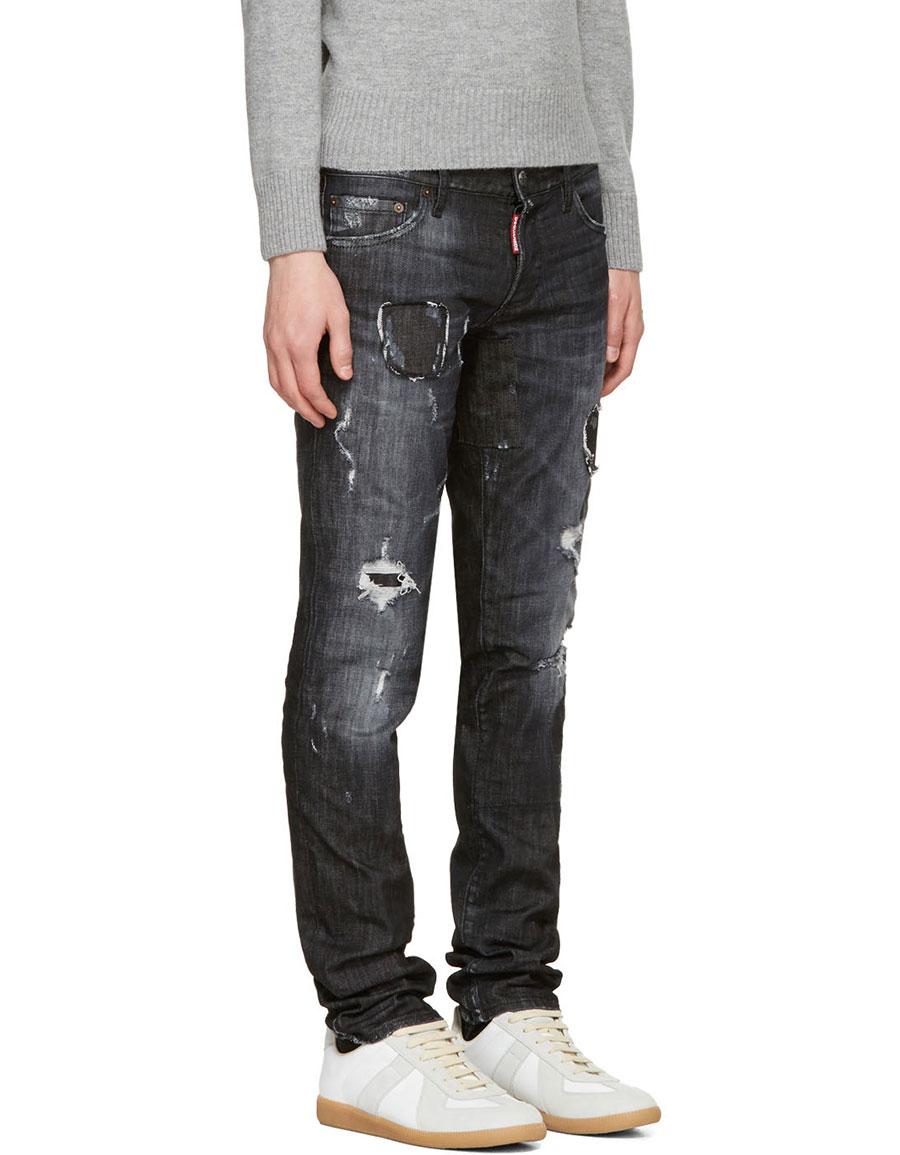 DSQUARED2 Black Slim Jeans