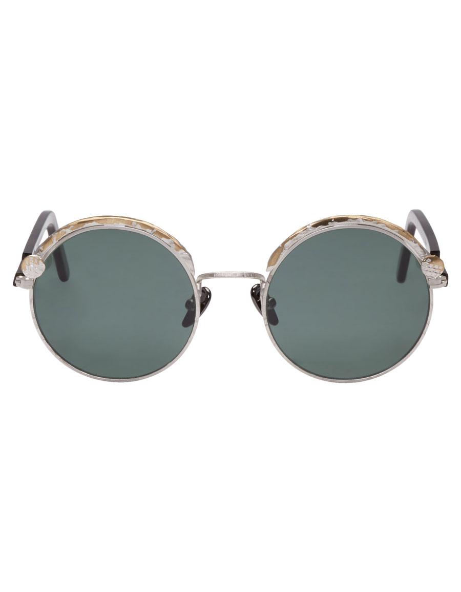 KUBORAUM Silver & Tortoiseshell Maske Z1 Sunglasses