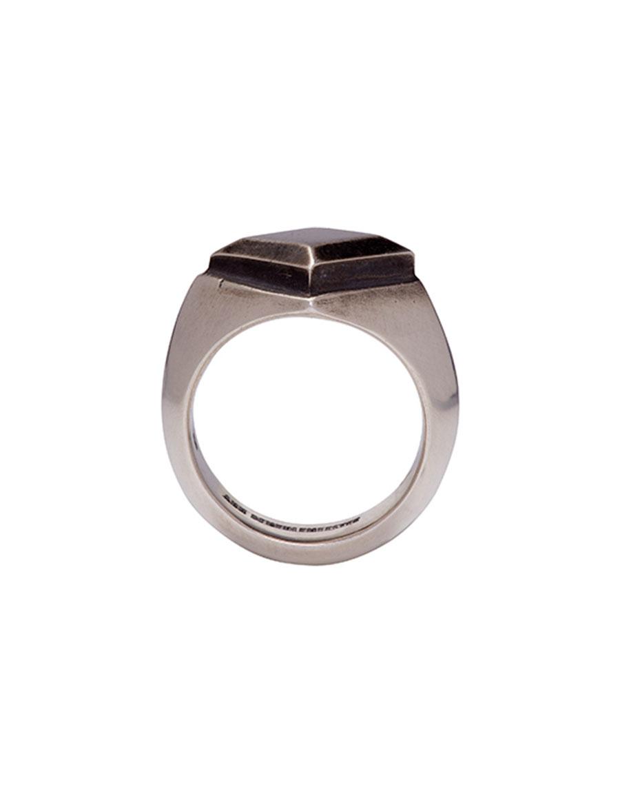 ANN DEMEULEMEESTER Silver Stud Ring