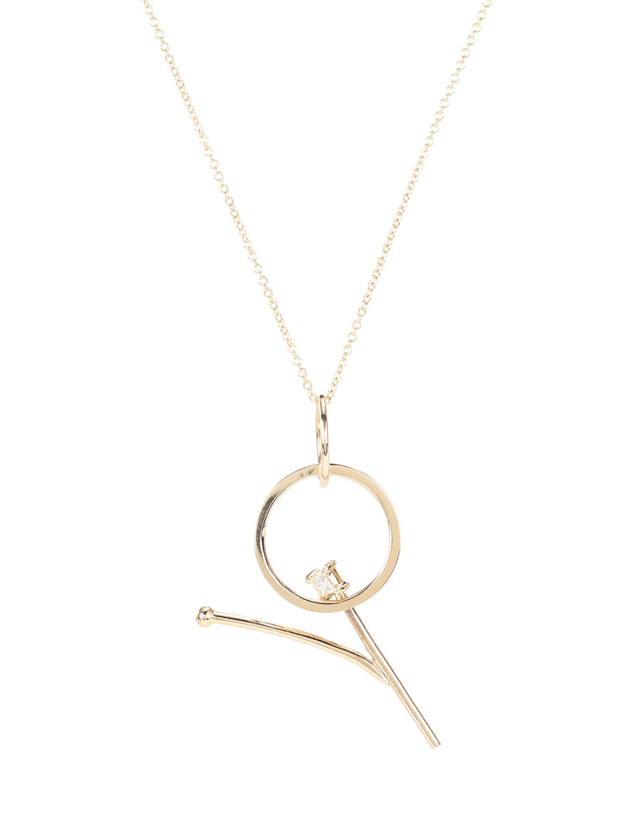 WASSON FINE Single Orbit pendant