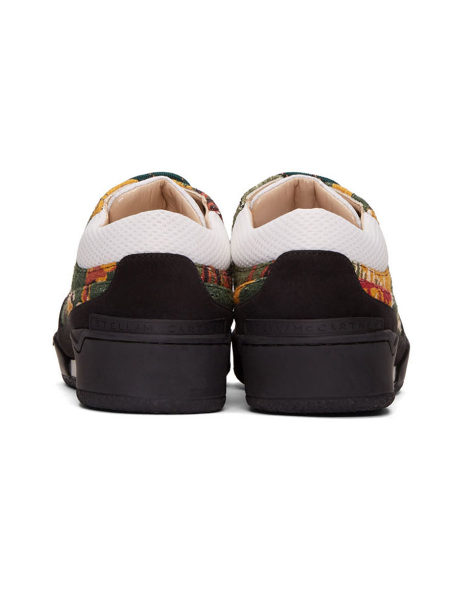 STELLA MCCARTNEY Multicolor Textile Panelled Sneakers