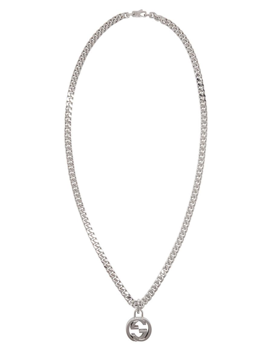 GUCCI Silver GG Necklace