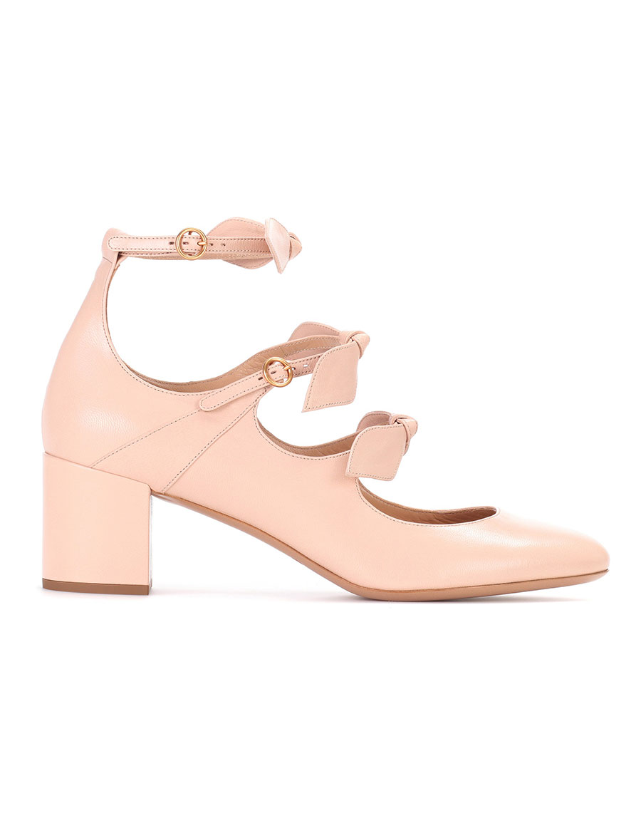 CHLOÉ Mike leather Mary Jane pumps