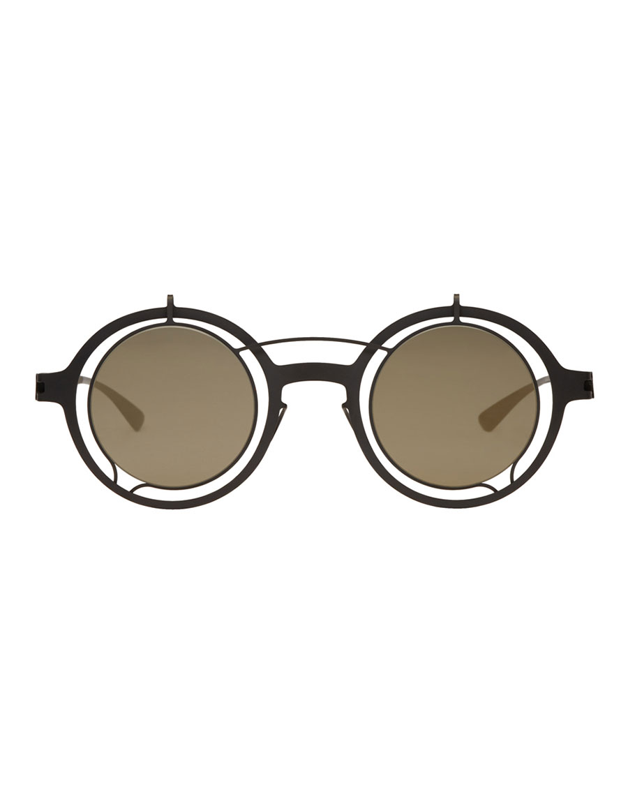 DAMIR DOMA Black Mykita Edition Madeleine Sunglasses
