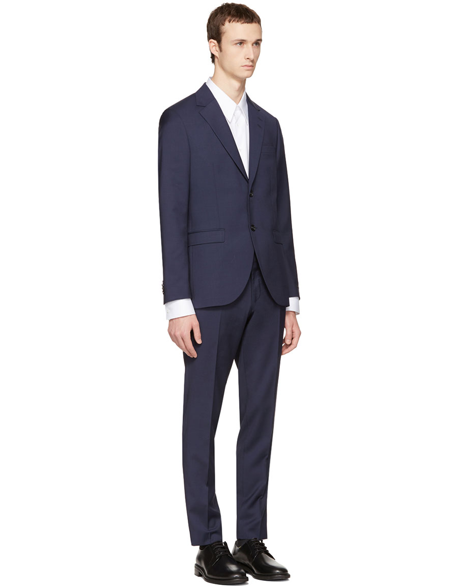 TIGER OF SWEDEN Navy Wool Lamonte Suit