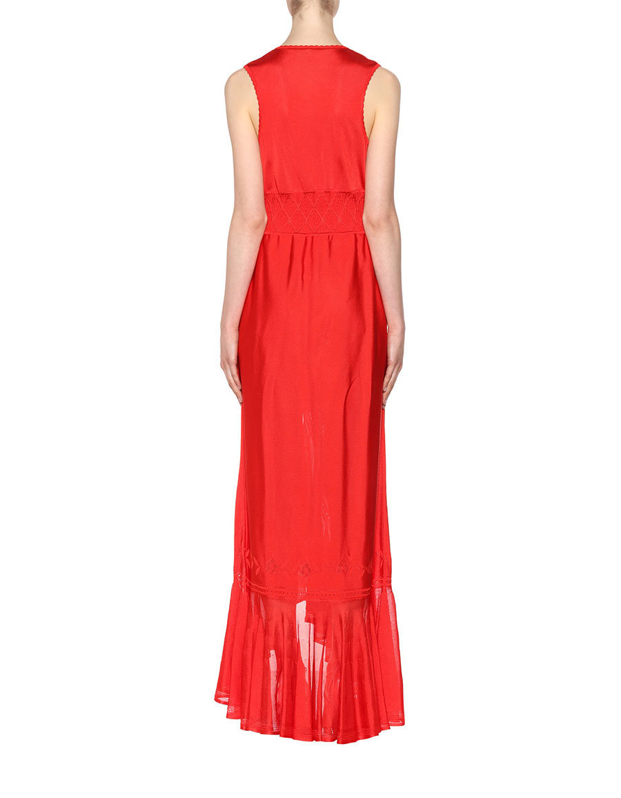 ROBERTO CAVALLI Sleeveless gown
