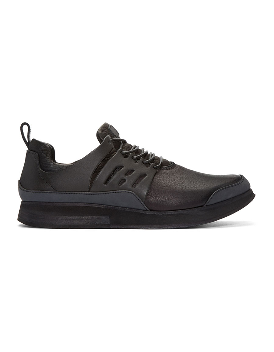 HENDER SCHEME Black Manual Industrial Products 12 Sneakers