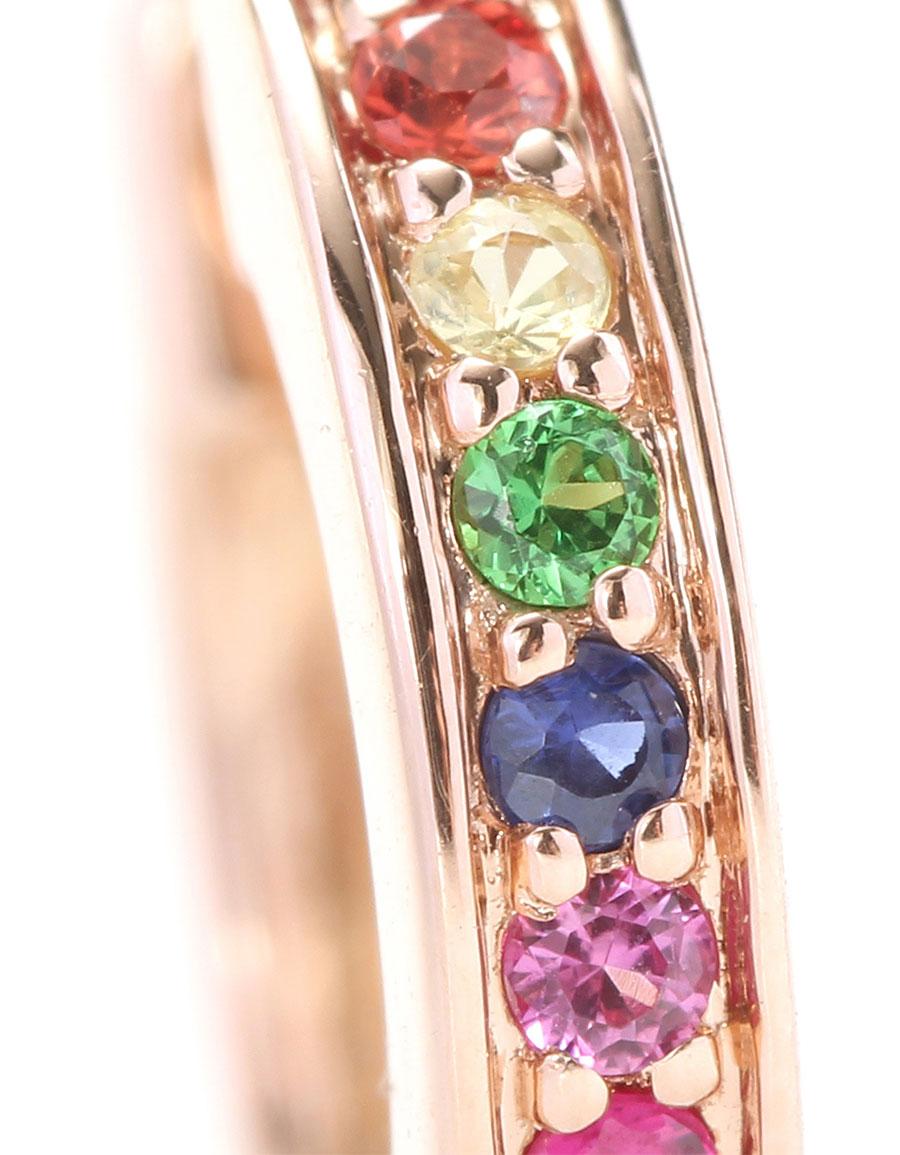 SYDNEY EVAN Small Rainbow Huggie Hoops earrings