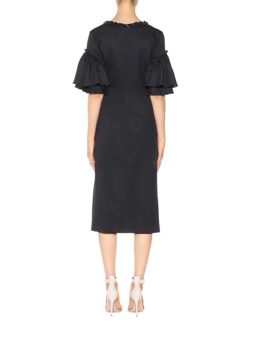 OSCAR DE LA RENTA Wrap style dress