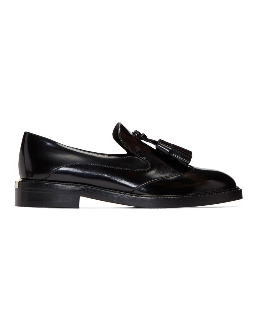 BURBERRY Black Halsmoor Loafers